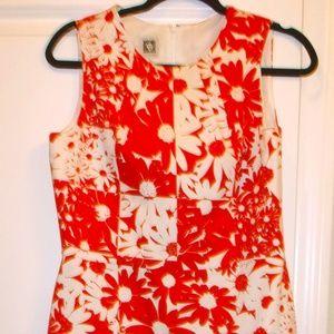 New Anne Klein Womens Sleeveless Sheath Dress
